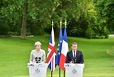 Macron et May se préoccupent du Brexit et de la lutte antiterroriste