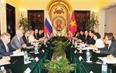 Dialogue politique et consultations politiques Vietnam - Russie