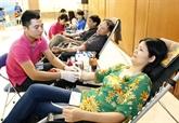 Les donneurs de sang à lhonneur