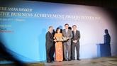 Vietcombank reçoit trois prix internationaux