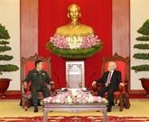 Le leader du PCV et le PM reçoivent le général Fan Changlong