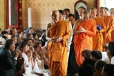 Le patriarche suprême de Thaïlande salue les liens avec lÉglise bouddhique du Vietnam