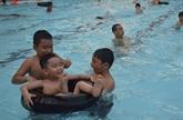 À Thái Bình, la sécurité à la piscine passe avant tout