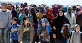 Réfugiés : le nombre de personnes déplacées atteint un record, selon l'ONU