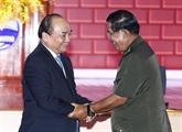 Rencontre entre les deux PM vietnamien Nguyên Xuân Phuc et cambodgien Samdech Techo Hun Sen