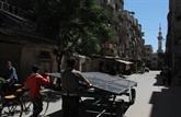 De lénergie solaire mobile dans une ville assiégée de Syrie