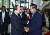 Vietnam et Cambodge discutent des mesures de promotion de la coopération bilatérale