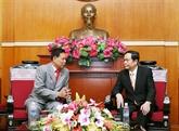 Vietnam - Cambodge : le président du FPV reçoit un responsable du FSDPC