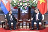 Le président Trân Dai Quang reçoit le président de l'AN cambodgienne