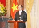 Interviews au seuil de la visite de Trân Dai Quang en Biélorussie et en Russie