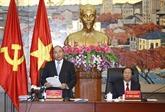 Le Premier ministre Nguyên Xuân Phuc rencontre des électeurs de Hai Phong