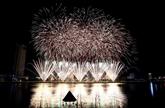 Clôture du Festival international de feux d'artifice de Dà Nang 2017