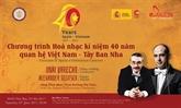 Hô Chi Minh-Ville : un concert célèbre les relations Vietnam - Espagne