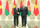 Vietnam-Bélarus : entretien entre Trân Dai Quang et Alexander Lukashenko