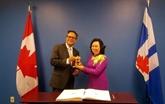 Hanoï renforce la coopération intégrale avec le Canada et les États-Unis