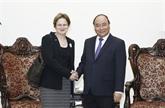 Nguyên Xuân Phuc reçoit lenvoyée spéciale du Premier ministre australien