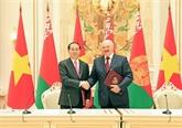 Déclaration commune Vietnam - Bélarus
