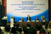Climat : colloque sur la contribution du Vietnam à Hanoï