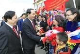 Trân Dai Quang entame sa visite officielle en Russie