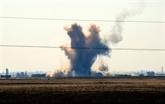 Syrie : 30 civils tués dans des frappes contre un secteur tenu par l'EI
