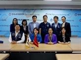 Une délégation de la CGT du Vietnam en visite en République de Corée
