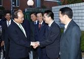 Le PM Nguyên Xuân Phuc entame sa visite officielle au Japon