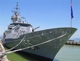 Un navire de la Marine royale australienne à Dà Nang