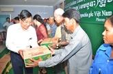 Golden Land Cambodia au chevet de résidents vietnamiens au Cambodge