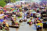 Festival de la culture du marché flottant de Cai Rang