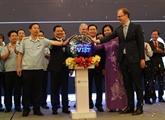 Inauguration du site dinformations commerciales du Vietnam