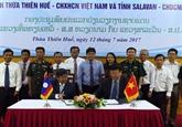 Les localités vietnamiennes et lao construisent une frontière pacifique