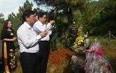 Hommage aux soldats tombés au champ d'honneur dans plusieurs localités