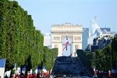 Donald Trump est l'invité d'honneur lors du défilé du 14 juillet sur les Champs-Élysées