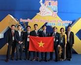 Le Vietnam brille aux Olympiades internationales de chimie 2017