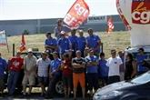 GM & S : une centaine de salariés bloquent un site de Renault dans l'Yonne