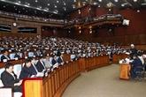Le Sénat cambodgien adopte lamendement de la loi sur les partis politiques