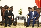 Le Premier ministre Nguyên Xuân Phuc reçoit le secrétaire général de l'ASEAN