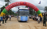 Ouverture au trafic d'une autoroute entre le Vietnam et le Cambodge