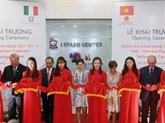 Inauguration du Centre de technologies des chaussures Vietnam - Italie