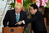 Johnson salue le maintien des investissements japonais malgré le Brexit