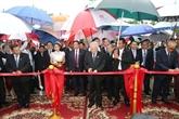 Inauguration du Monument de l'amitié Vietnam - Cambodge
