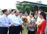 Le Premier ministre Nguyên Xuân Phuc exhorte à multiplier les jardins modèles