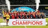 Le Vietnam remporte la Coupe de l'AFF U15