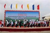 Construction de la première usine de verre flotté ultra clair à Bà Ria - Vung Tàu