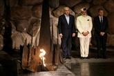 Première visite en Israël d'un chef de gouvernement indien