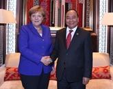 La visite de Nguyên Xuân Phuc contribue à renforcer les liens Vietnam-Allemagne