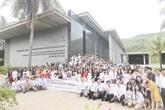 Cest parti pour lÉcole dété des sciences à Quy Nhon