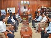 Bonne coopération entre les agences de presse vietnamiennes et cambodgiennes