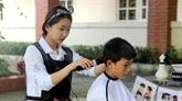Des étudiants volontaires sud-coréens en visite à Nghê An