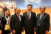 Le PM vietnamien au Sommet G20 : Une journée chargée des rencontres